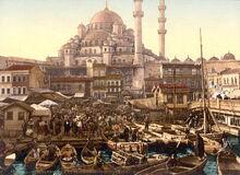 1200px-Flickr - …trialsanderrors - Yeni Cami and Eminönü bazaar Constantinople Turkey ca. 1895