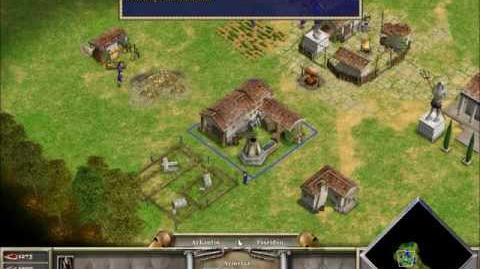 Age of Mythology; campaña 1 (Aprende a jugar), misión 3 (Invitados no esperados)