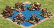 New docks de castle
