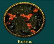 Erebus menu image