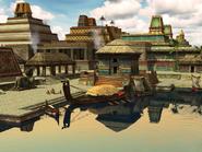 Tlaloc Canoe Tenochtitlan