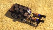 In campaign Black Powder Wagon