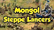 Mongol Steppe Lancer