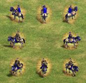 Khan unit view aoe2DE