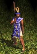 Mapuche ironwood clubman model