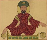 Saladin possible portrait 1185