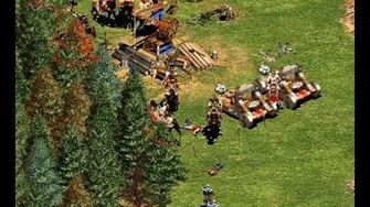 Barbarossa 1st mission but I don't make any villager, don't pick any relic and defeat everyone
