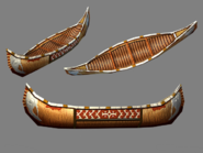 Canoe model