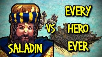 SALADIN vs EVERY HERO EVER AoE II Definitive Edition