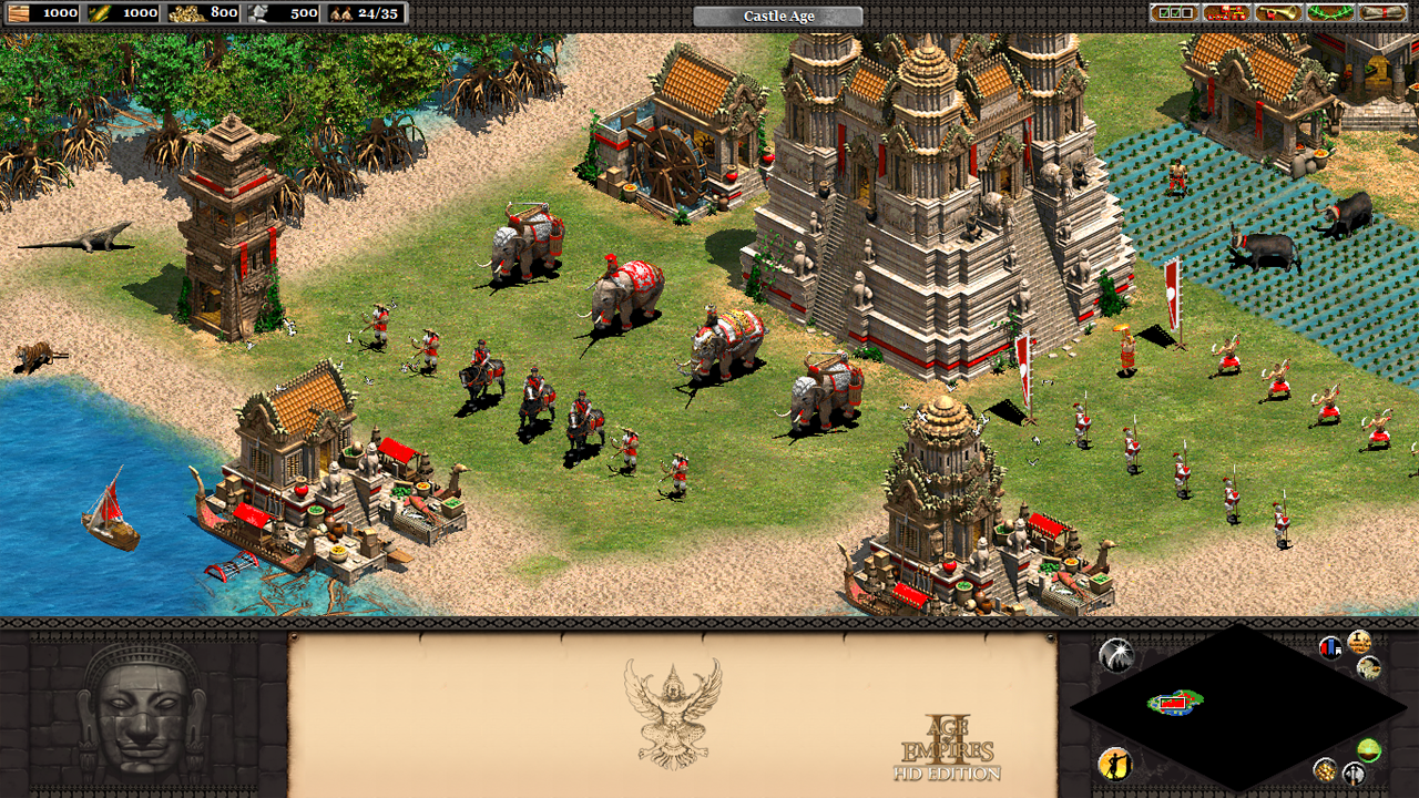 Screenshot from Rise of the Rajas showing