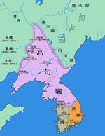 Map of Goguryeo