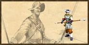 Pikeman history portrait