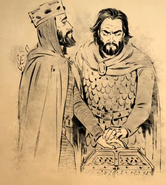 El Cid Makes Alfonso swear on the Relics