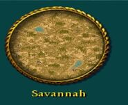 Savannah menu icon.