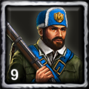 French Home City 2 (9 Skirmishers)