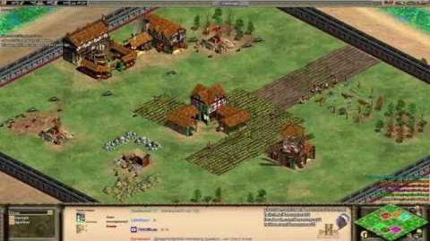 Aoe2 HD- 3v3 Hill Fort (The Map that is Always Bugged)