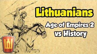 AoE2 vs History Ep. 1 - Lithuanians