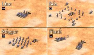 Aoe2de formations