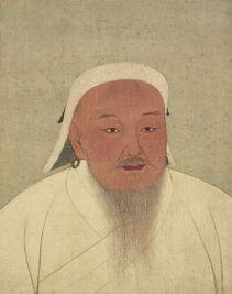 Genghis-Khan Yuan-portrait