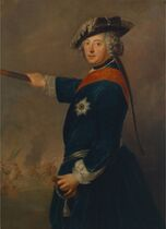Antoine Pesne - Friedrich II. als Feldherr (1745)