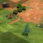Frontline terrain