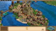 Incan island city