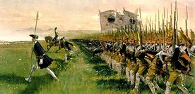 Hohenfriedeberg - Attack of Prussian Infantry - 1745