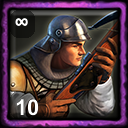 French Home City 2 (10 Crossbowmen)