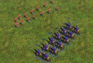 Uhlans vs Skirmishers