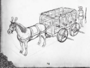 War Wagon concept art