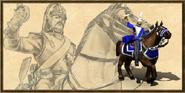 Cuirassier history portrait