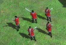 中國人 - 單位06.紀律火繩槍兵