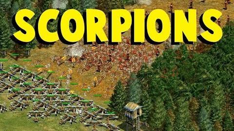 AoE2 Scorpions