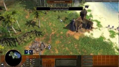 Age of empire 3 Campaña Acto 1 Misión 4 en español (voces y texto)