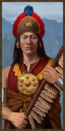 Inca history portrait