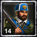 French Home City 2 (14 Skirmishers)