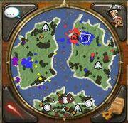 Caribs Mini map