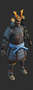 Samurai Honored concept