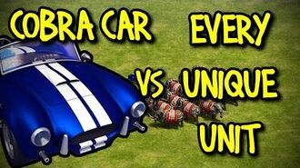 COBRA CAR vs EVERY UNIQUE UNIT AoE II Definitive Edition