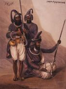 Sikhs with chakrams