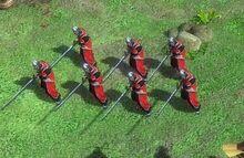 中國人 - 單位07.紀律長刀兵