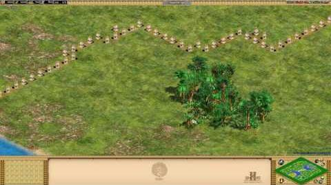 Age of Empires II- Rise Of The Rajas - -17 Holy Line - Special Map