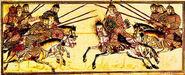 Mongol lancers