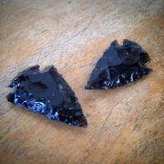 Obsidian arrows real