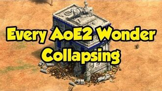 All AoE2 DE Wonders Collapsing