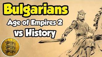 Bulgarians - AoE2 vs History