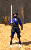 Delgado in-game model