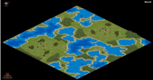 Land of lakes mini map
