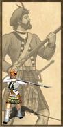Highlander history portrait