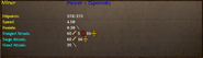 Miner stats